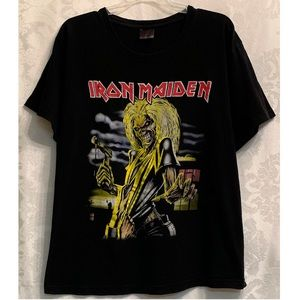 Iron Maiden   Killers Cover Graphic T-Shirt